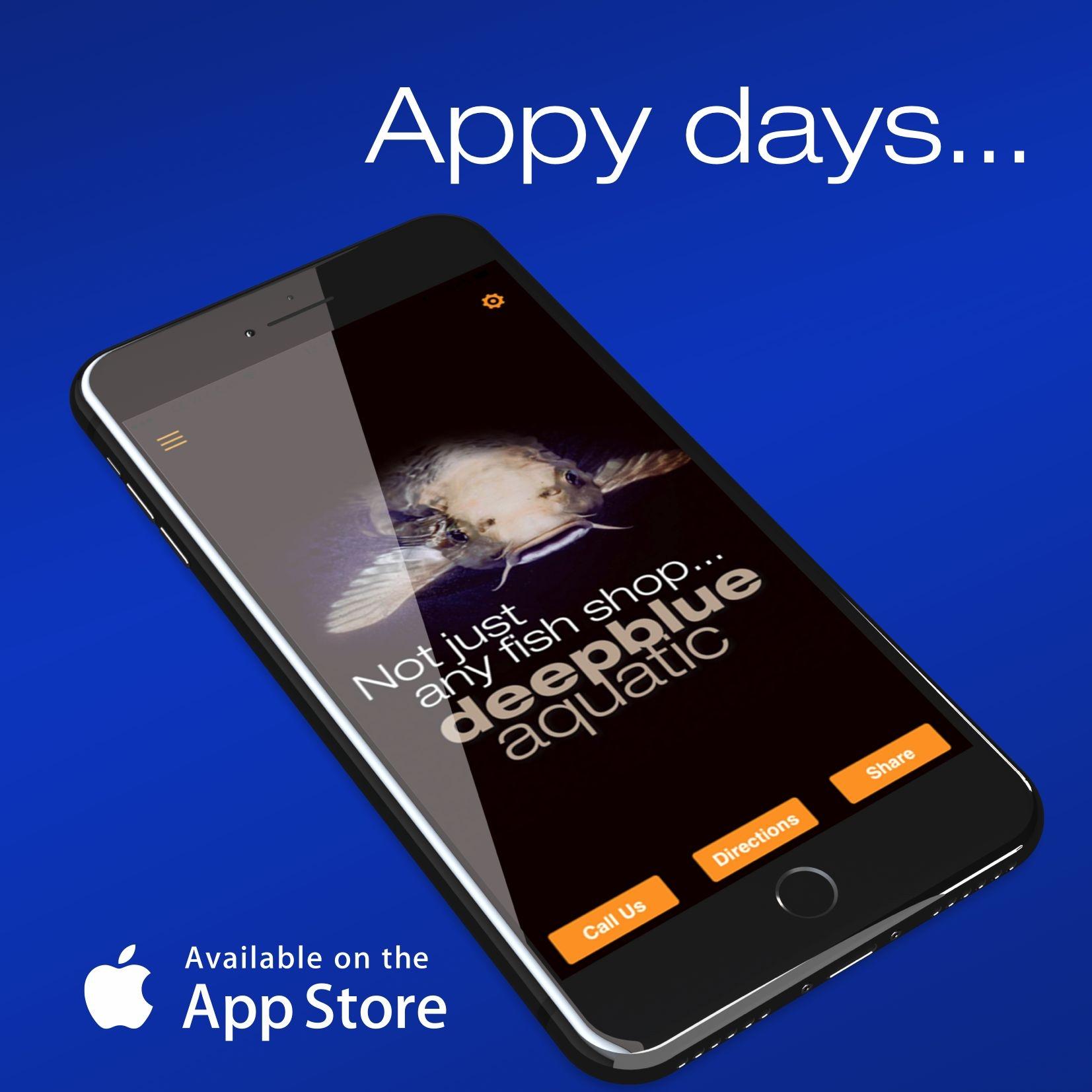 deepblue app now available!